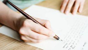 Viết thư chia sẻ niềm vui, nỗi buồn trong cuộc sống